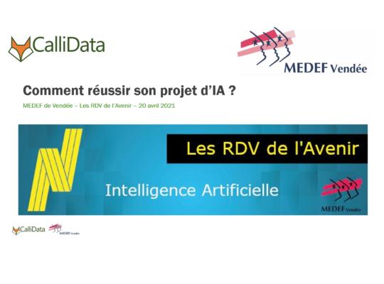 Les RdV de l'Avenir IA - Comment réussir son projet IA ?